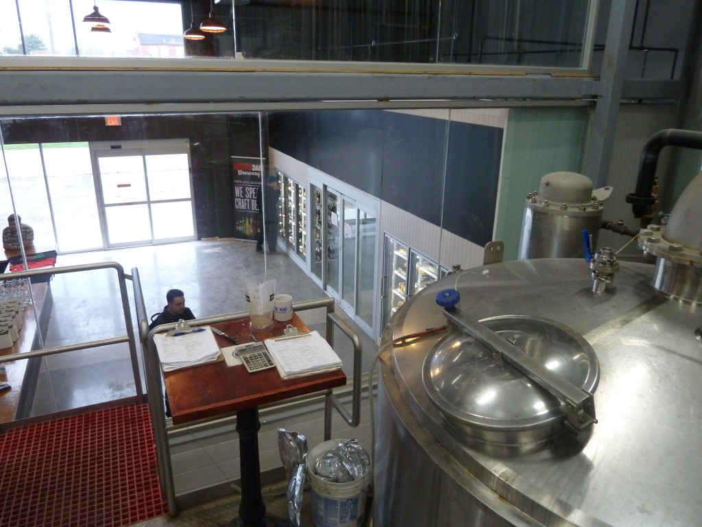 The Amsterdam retail store, viewed from the Brewhouse.