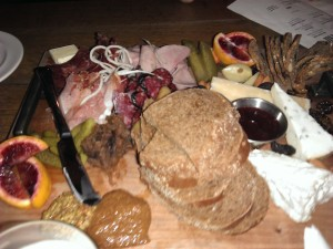 Truly, a really impressive charcuterie platter at WURST.