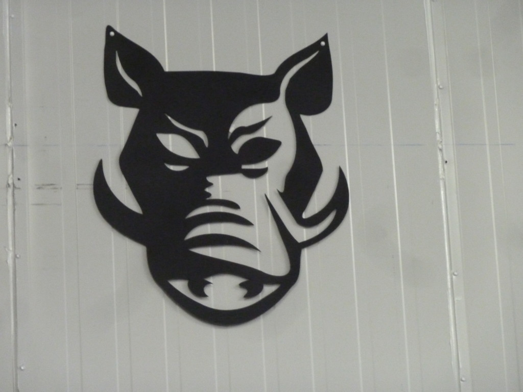The Hog's Head Logo: Tastefully shaded, but slightly evil lookin'.