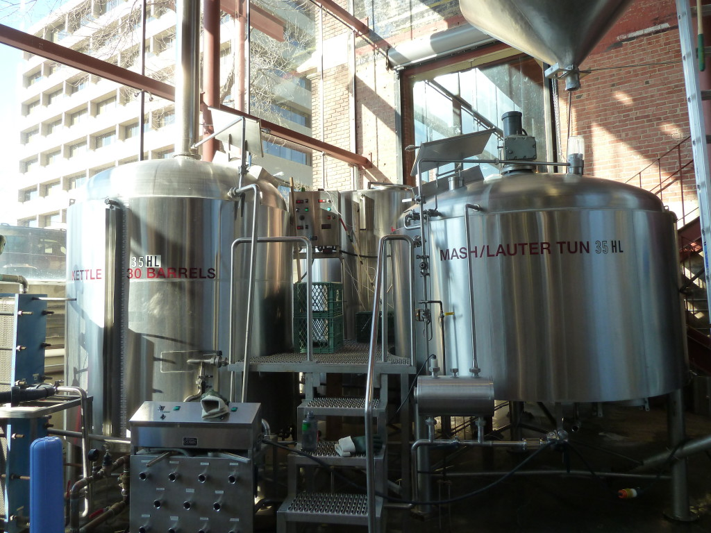 The brewhouse at Yellowhead is visible from the street, which is an excellent reason to break out your brewhouse polish and chamois.