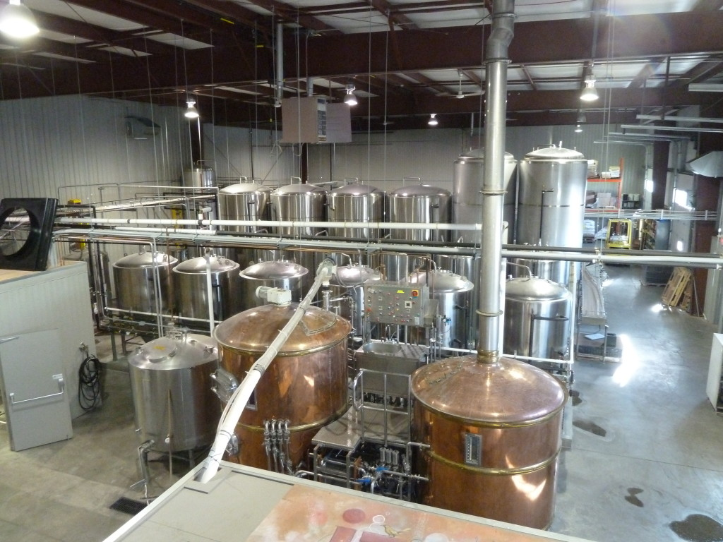 Village's entire brewery is just pristine. Great use of the space in terms of layout.