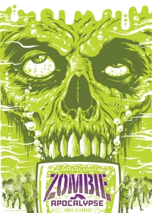 "If you released this as a beer in 1984, people would have thought you had brain problems. Now it is one of about 58 beers on ratebeer with the word ""Zombie"" in the name."
