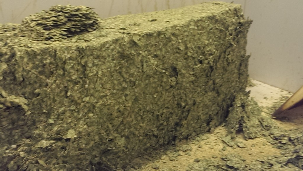 There's something about an entire bale of hops that elicits a giddy thrill.
