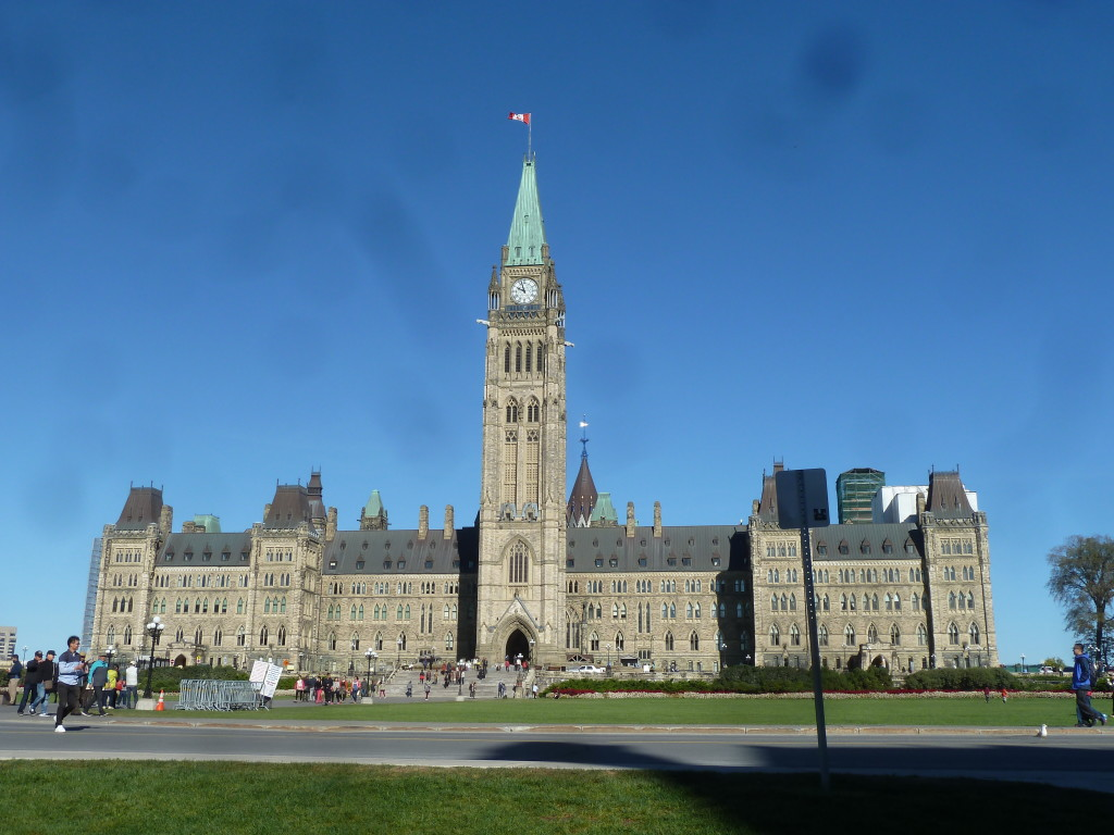 Beautiful downtown Ottawa! (phew)