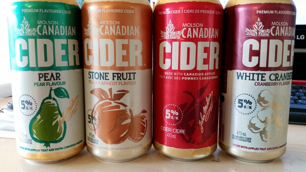 Molson Canadian. The Lager Beer That's Fresh And Clear. Unless It's a Cider.  Try collecting on those royalties now, Anka.