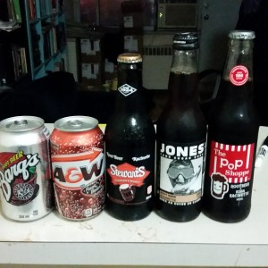 Garrett Oliver tells me soft drinks lead to the dark side. I mostly drink soda water, which is sort of neutral