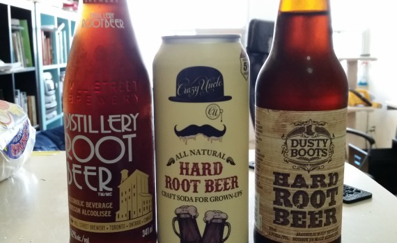 Hard Root Beer. It has taken America by storm. That is a figure of speech. If it is actually reigning Root Beer that's a sign of the apopcalypse.